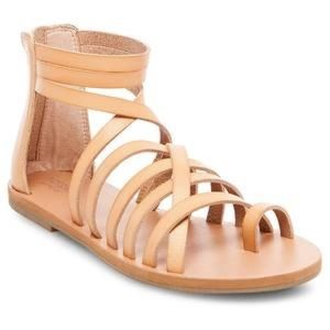 NWT adorable tan gladiator sandals